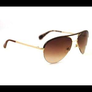 diane von furstenberg 101s 715 aviator sunglasses